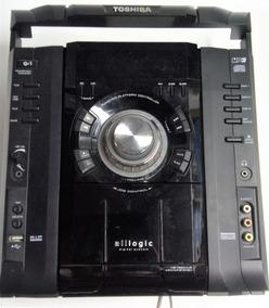 Placa Frontal Display Som Toshiba Ms7860mus