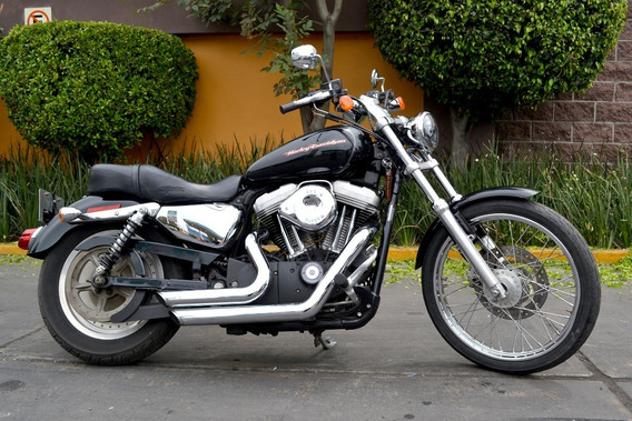 Poderosa Sportster Custom 883 Harley Emplacada Con Extras