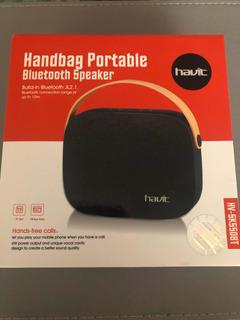 Parlante Bluetooth 10 Mts/usb/tarjeta Sd Havit 550 10hs Rep