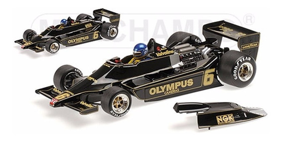 Miniatura F1 Lotus Ford 79 1978 R Peterson 1:18 Minichamps