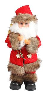 Navidad Eléctrica Santa Claus Juguete Chimenea Musical Ambul