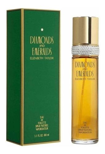 Perfume Original Diamantes Y Esmeraldas - mL a $899