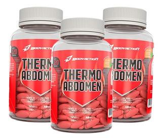 3x Termogênico Thermo Abdomen - 120 Cápsulas - Body Action