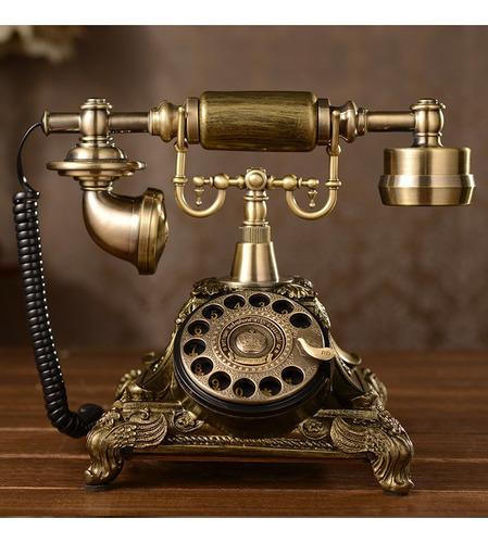 Vintage Retro Resina Rotativa Telefonze