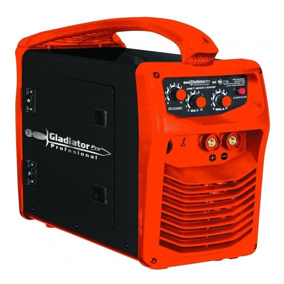 Soldadora Inverter Mig-electrodo-tig Galdiator Imet8250/220m