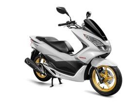 Moto Honda Pcx 150 Dlx 2016 Semi Nova Somente 1800km Rodado