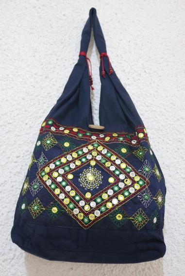 Bolsa Indiana Bordada Nova, Bolsa Importada Exclusiva,hippie