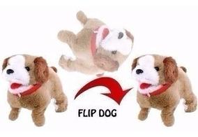 Cachorrinho Pelucia Puppy Anda Late E Cambalhotas - Co218