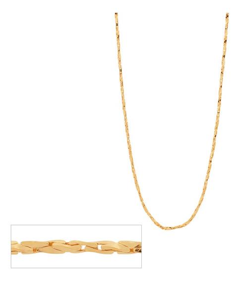 Corrente Rommanel Fio Torcido Diamantado Med 50cm 531628
