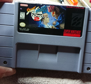 Street Fighter Alpha 2 Snes Original