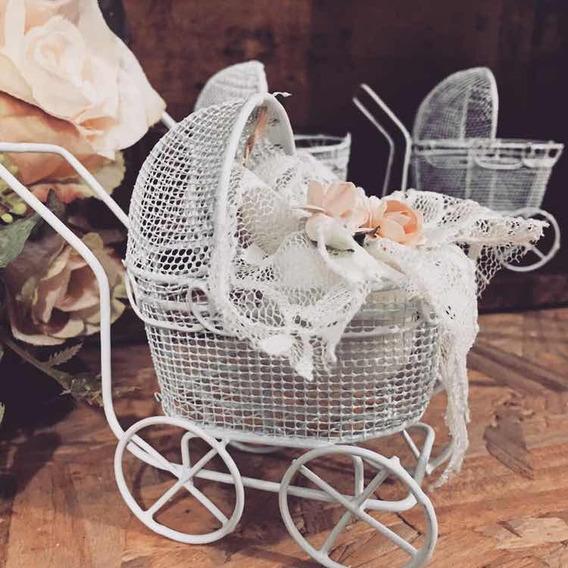 Souvenir Cochecito Vintage Bebe Nacimiento Baby Shower