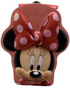 Maleta Porta Acessórios Bijuterias Jóias Minnie Disney Rosa