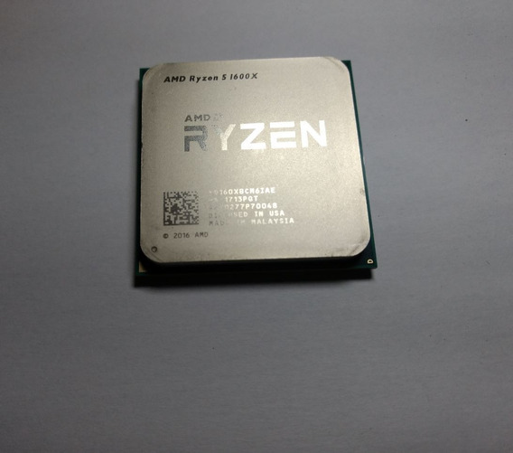 Kit Processador Ryzen 1600x + Placa Mãe Gigabyte Ab350m-d3h
