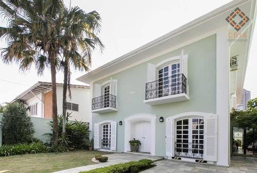Casa Com 4 Dormitórios À Venda, 390 M² Por R$ 5.050.000,00 - Jardim Paulistano - São Paulo/sp - Ca2773