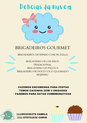 Imagem 1 de 3 de Brigadeiros Delicia Da Nuvem