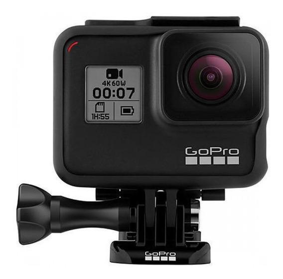 Gopro Hero 7 Black + Cartão 32gb Extreme C/ Nota Fiscal-e