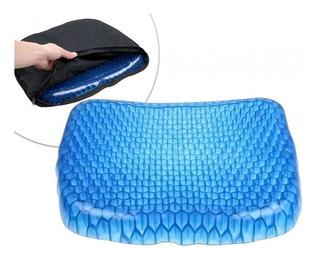 Cojin De Gel Panal Reconfortable Flexible Auto Sala