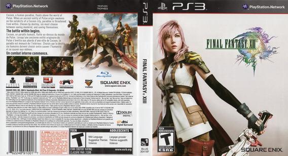 Final Fantasy Xiii - Mídia Física