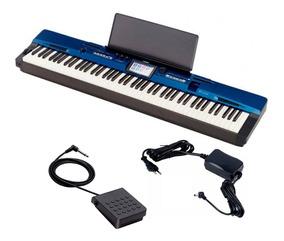 Piano Digital Casio Privia Px560 Azul + Pedal + Frete Gratis