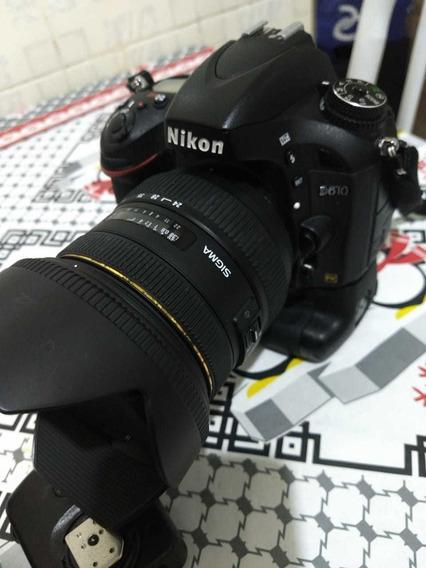 Nikon Dslr / D 610+ L 24-70,2.8+grip+fsh Sb900 - Ct 32 16gb