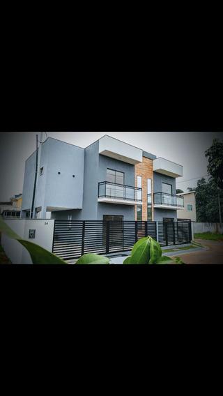 Casa De 3 Quartos 3 Banheiro E 2 Sacadas Área De Serviço E G