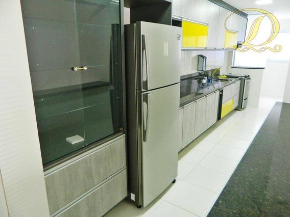 Apartamento 03 Dormitórios Com 02 Vagas E Área De Lazer Completa No Forte, Estuda Permuta E Parcelamento Direto - Ap2360