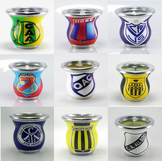 Mate Fútbol Argentino E Internacional A B C D Y Mas... Pregunta Por El Tuyo Idel Para Regalo M