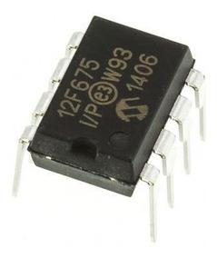 20x Pic12f675 Pic 12f675 Microcontrolador Microchip