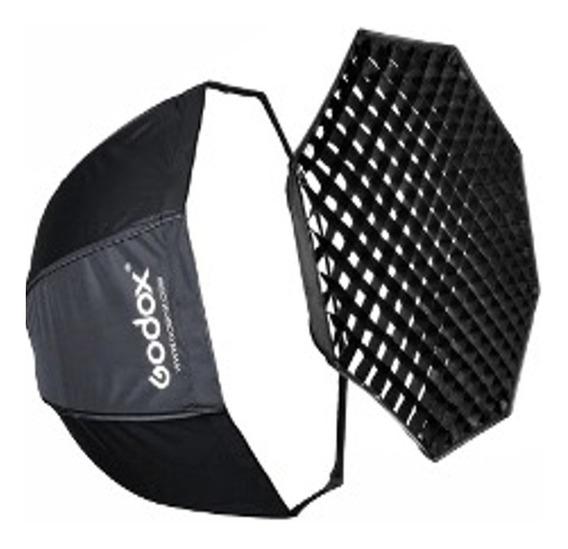 Octabox Godox Com Grid 80cm Tipo Sombrinha Guarda Chuva
