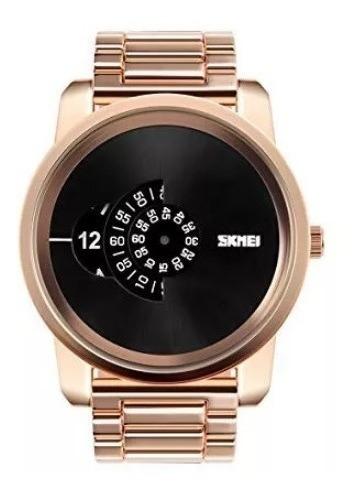 Relógio Masculino Skmei Gold Caixa Grande + Frete Grátis !