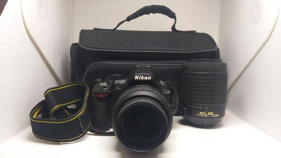 Camera D3100 Dlsr Nikon + Bolsa + Acessorios