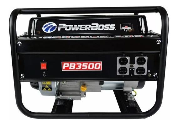 Generador Powerboss 30647 De 3500 Watts Motor Briggs&stratto