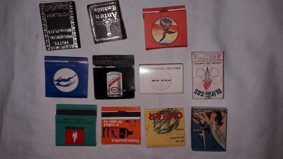Fosforos Cajas Y Carteritas Antiguos Lote X 11