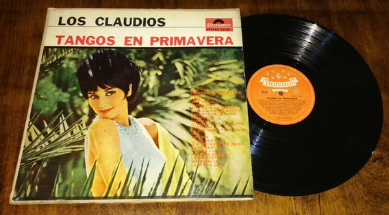 Los Claudios Tangos En Primavera Disco Lp Vinilo