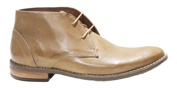 Zapato Bota Vestir Cuero Hombre Moda 9315. Marca Blood South