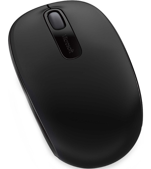Mouse Microsoft Wireless Mobile 1850 Sem Fio Original Preto