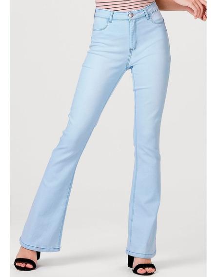 Calça Jeans Feminina Flare Push Up Hering
