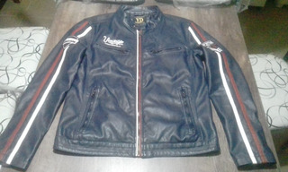 Campera De Cuero Young Design