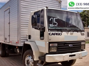Ford Cargo 1215 Toco Ano 1995 Baú, Único Dono, Original.