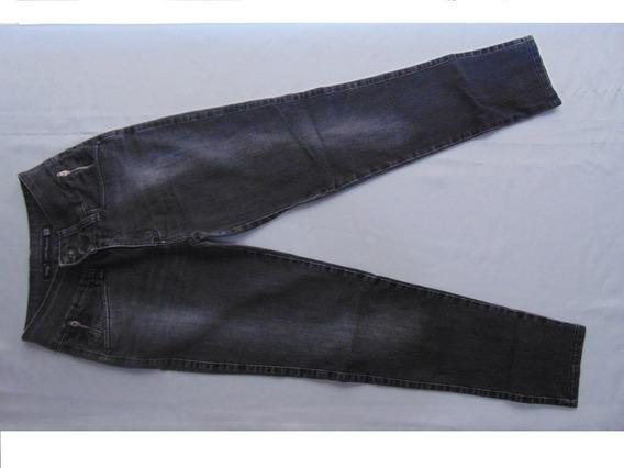 Calça Jeans Feminina Usada Tamanho 40 Semi Nova Preta