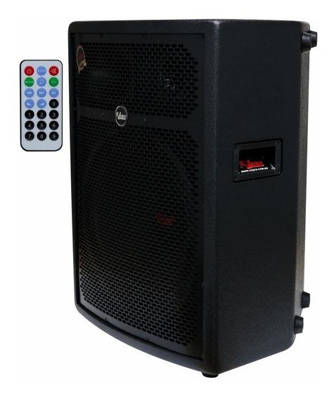Caixa Som Amplificada Leacs Fit550a 250w Rms Usb Bluetooth