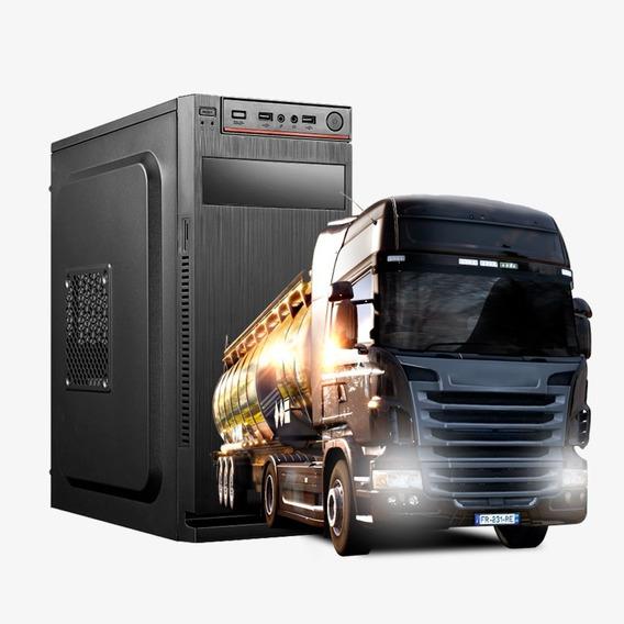 Pc Gamer Strike Core 2 Quad, 8gb Ram Ddr3, Hd500gb,gt710 2gb