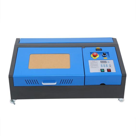 Maquina Grabado Corte Laser 40w Co2 Cnc 2019 Antiflama Indicador Temperatura Puntero Cruz Laser Y Bomba De Aire Y Más!