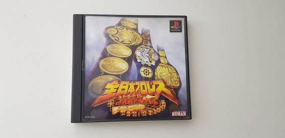 Luta Livre Playstation 1 Original Jap