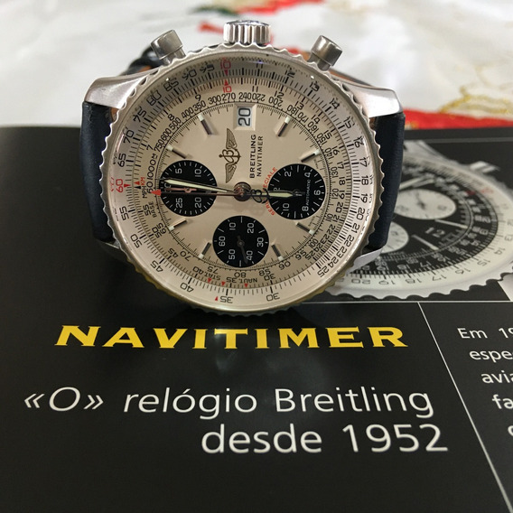 Breitling Navitimer Especiale Fighters 42mm Automático Crono
