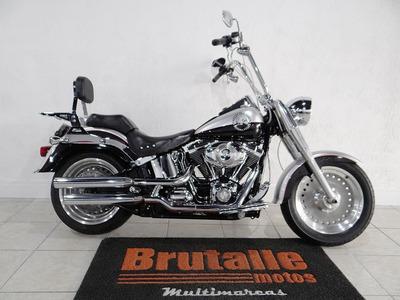 Harley Davidson Fat Boy Preta