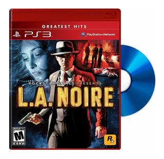 L.a. Noire Ps3 Físico Blu-ray Original