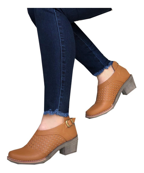 Estilos De Botas Para Mujer Zapatos Marrón en Mercado