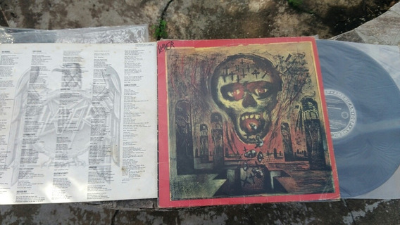 Lp Slayer, Seasons In The Abyss, Completo Com Encarte