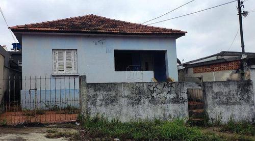 Terreno À Venda, 250 M² Por R$ 380.000,00 - Jardim Das Maravilhas - Santo André/sp - Te1137